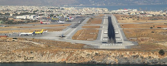 crete heraklion airport taxi transfers and shuttle service